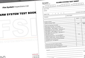 Supply of Inspection and Test Books