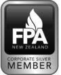 corporate silver icon